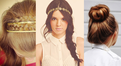 easy hairstyles for the day of high school hairstyles for the day of school